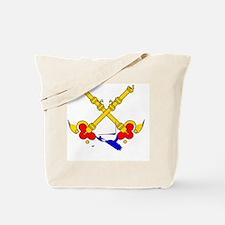 Cute Papal flag Tote Bag