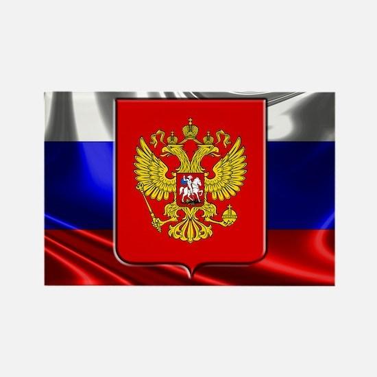 Cute Russia flag Rectangle Magnet