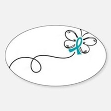 Butterfly ribbon Decal