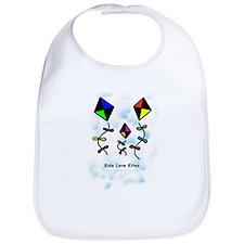 Kids Love Kites Bib