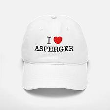 I Love ASPERGER Baseball Baseball Cap