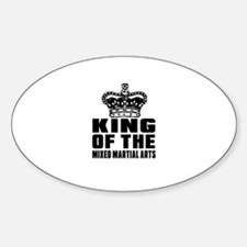 King Of The Mixed Martial Arts Decal