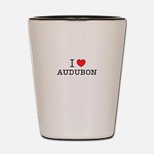 I Love AUDUBON Shot Glass