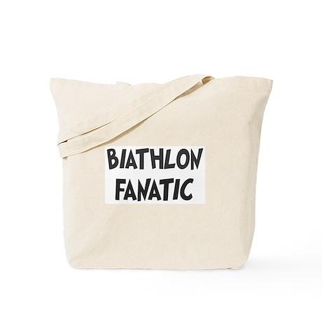 Biathlon fanatic Tote Bag