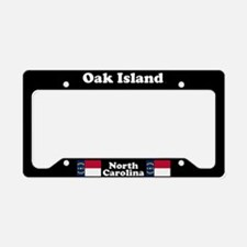Oak Island NC License Plate Holder