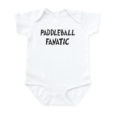 Paddleball fanatic Infant Bodysuit