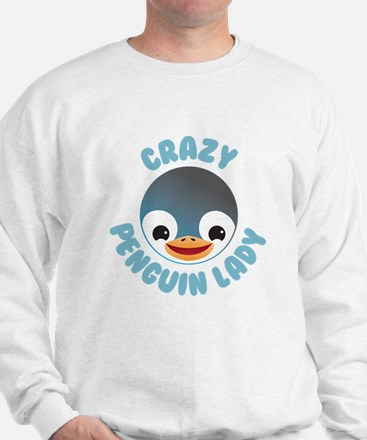 Crazy Penguin lady Jumper