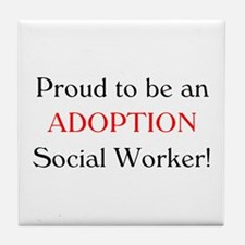 Proud Adoption SW Tile Coaster