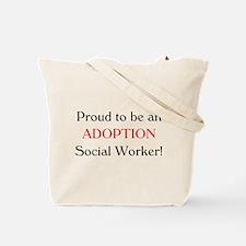 Proud Adoption SW Tote Bag