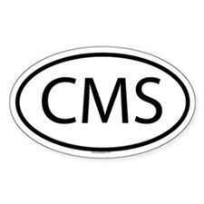 CMS Oval Decal