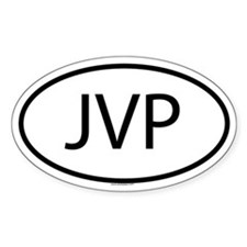 JVP Oval Decal