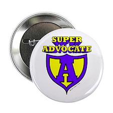 "Super Advocate Logo 2.25"" Button (10 pack)"