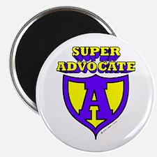 Super Advocate Logo Magnet