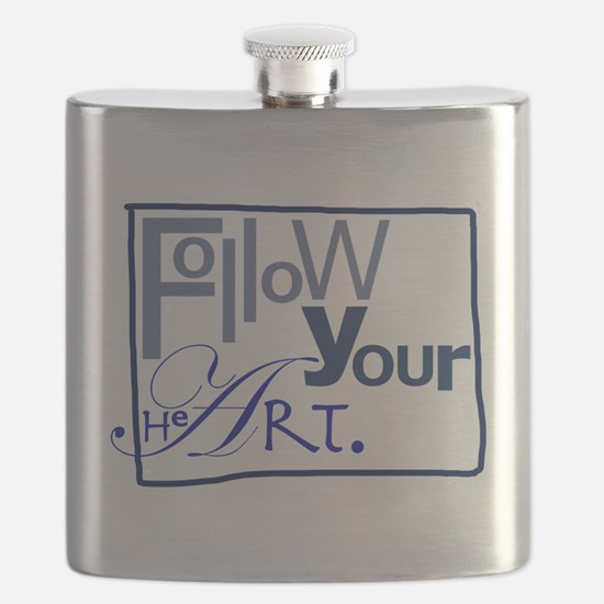 Follow Your HeArt Flask