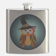 Witch Owl Flask