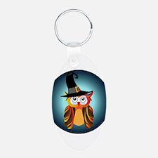 Witch Owl Keychains