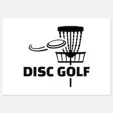 Disc golf Invitations