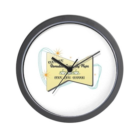 Instant Biomedical Engineering Major Wall Clock