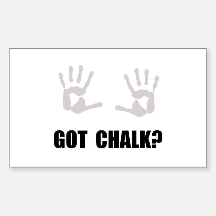 Got Chalk Decal