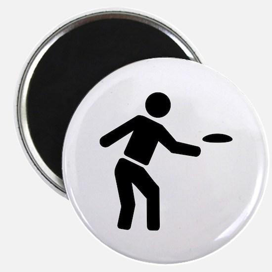 "Disc golf sports 2.25"" Magnet (10 pack)"
