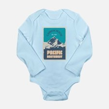Cannon Beach. Long Sleeve Infant Bodysuit