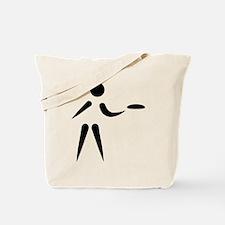 Disc golf player Tote Bag