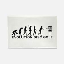 Evolution Disc golf Rectangle Magnet