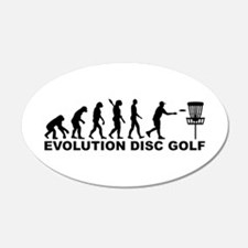 Evolution Disc golf Wall Decal