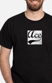 Vintage: Ace Ash Grey T-Shirt