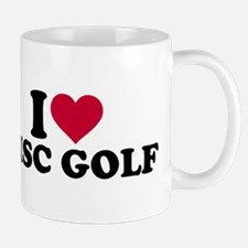 I love Disc golf Mug