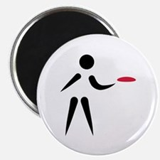 """Disc golf player 2.25"""" Magnet (100 pack)"""