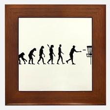 Evolution Disc golf Framed Tile