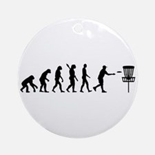 Evolution Disc golf Round Ornament