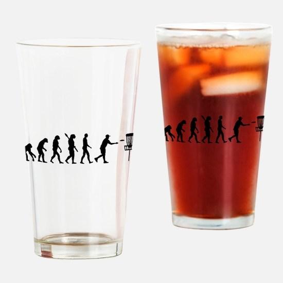 Evolution Disc golf Drinking Glass