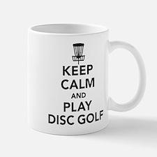 Keep calm and play Disc golf Mug