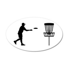 Disc golf Wall Decal