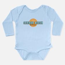 Cannon Beach. Long Sleeve Infant Body Suit