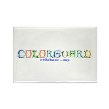 Colorguard Fancy Rectangle Magnet