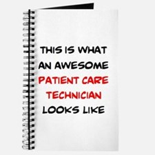 awesome patient care technician Journal