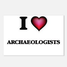 I Love Archaeologists Postcards (Package of 8)