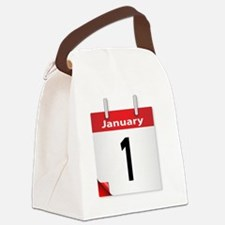 Funny New years Canvas Lunch Bag