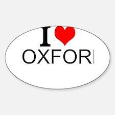 I Love Oxford Decal