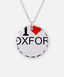 I Love Oxford Necklace