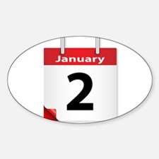 Date January 2nd Decal