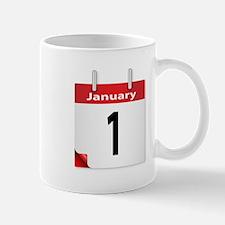 Date January 1st Mugs