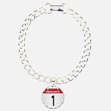 Date January 1st Bracelet