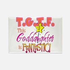 Fantastic Goddaughter Rectangle Magnet