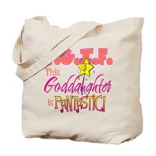 Fantastic Goddaughter Tote Bag