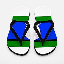 Torres Strait Islander Flag Flip Flops