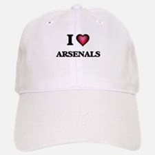 I Love Arsenals Baseball Baseball Cap